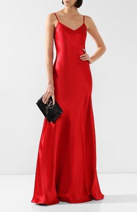 Женское шелковое платье RALPH LAUREN красного цвета, арт. 290718837 | Фото 2