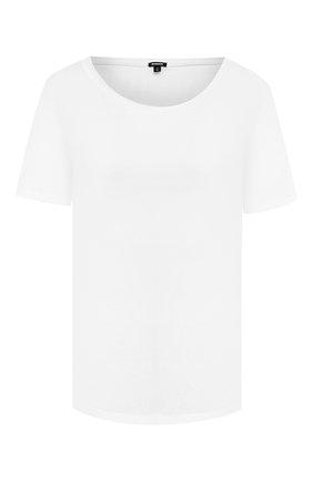 Женская хлопковая футболка MONROW белого цвета, арт. HT0415SFJ | Фото 1