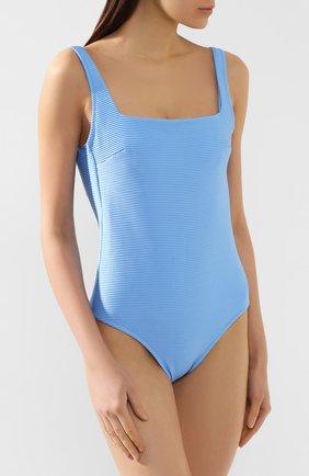 Женский слитный купальник HEIDI KLEIN голубого цвета, арт. 20RSCR0966 | Фото 2
