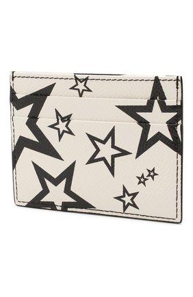 Мужской кожаный футляр для кредитных карт DOLCE & GABBANA черно-белого цвета, арт. BP0330/AK443 | Фото 2