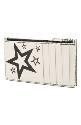 Мужской кожаный футляр для кредитных карт DOLCE & GABBANA черно-белого цвета, арт. BP2527/AK443 | Фото 2