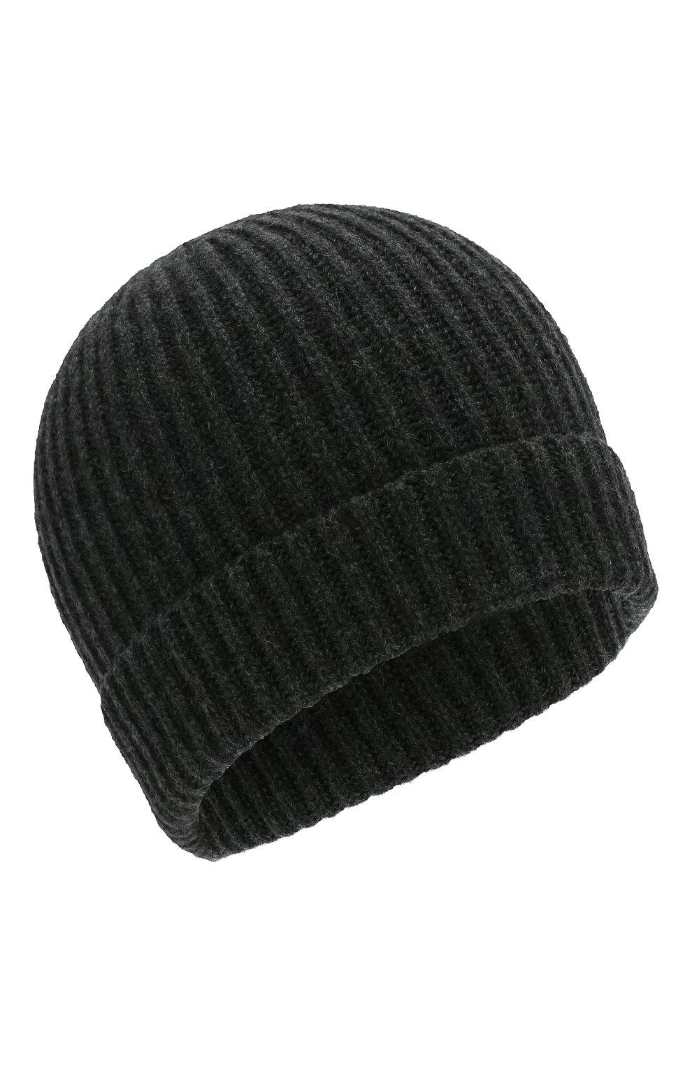 Мужская кашемировая шапка CORNELIANI темно-серого цвета, арт. 000316-0025185/00 | Фото 1