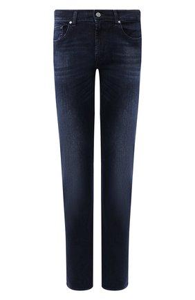Мужские джинсы 7 FOR ALL MANKIND темно-синего цвета, арт. JSMSR460AI | Фото 1