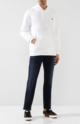 Мужские джинсы 7 FOR ALL MANKIND темно-синего цвета, арт. JSMSR460AI | Фото 2
