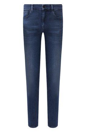 Мужские джинсы 7 FOR ALL MANKIND темно-синего цвета, арт. JSMXA230BD | Фото 1