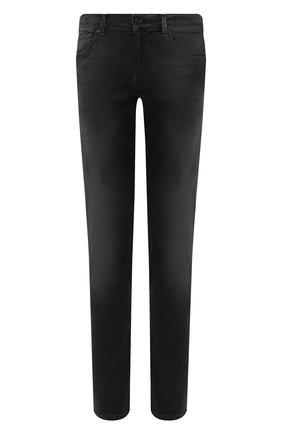 Мужские джинсы 7 FOR ALL MANKIND черного цвета, арт. JSMXA240BB | Фото 1