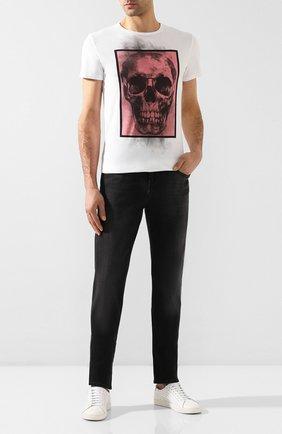 Мужские джинсы 7 FOR ALL MANKIND черного цвета, арт. JSMXA240BB | Фото 2