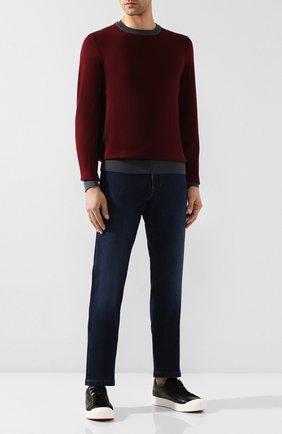 Мужские джинсы 7 FOR ALL MANKIND темно-синего цвета, арт. JSU3R750VD | Фото 2