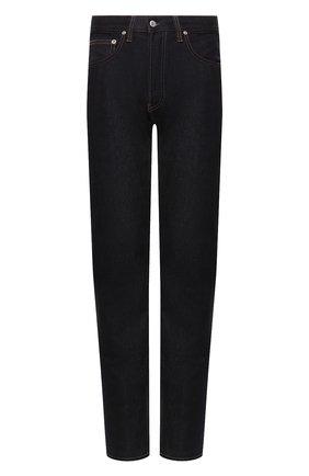 Мужские джинсы HELMUT LANG темно-синего цвета, арт. I09DM208 | Фото 1