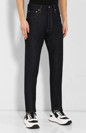 Мужские джинсы HELMUT LANG темно-синего цвета, арт. I09DM208 | Фото 3