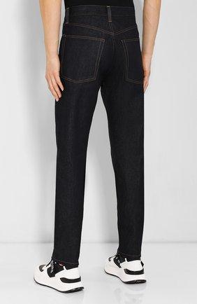 Мужские джинсы HELMUT LANG темно-синего цвета, арт. I09DM208 | Фото 4