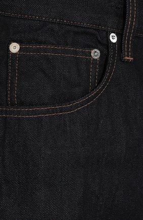 Мужские джинсы HELMUT LANG темно-синего цвета, арт. I09DM208 | Фото 5