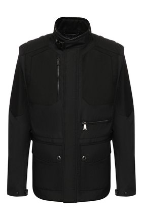 Мужская утепленная куртка RALPH LAUREN черного цвета, арт. 790760417 | Фото 1