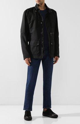 Мужская утепленная куртка RALPH LAUREN черного цвета, арт. 790760417 | Фото 2