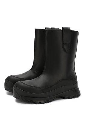Мужские сапоги STELLA MCCARTNEY черного цвета, арт. 582880/W1T91 | Фото 1