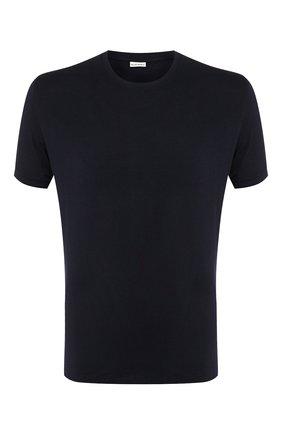 Мужские футболка из вискозы BLUEMINT темно-синего цвета, арт. ATIL | Фото 1