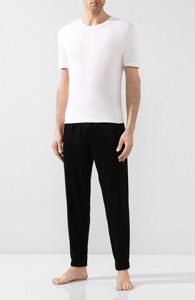 Мужские футболка из вискозы BLUEMINT белого цвета, арт. ATIL | Фото 2