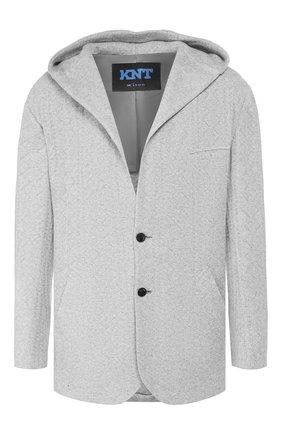 Мужской кашемировый пиджак KNT серого цвета, арт. UGS0104K01S78 | Фото 1