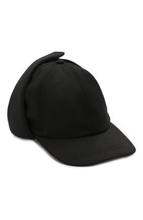 Мужской шерстяная бейсболка VALENTINO черного цвета, арт. SY0HPA00/NFB | Фото 1