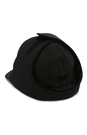 Мужской шерстяная бейсболка VALENTINO черного цвета, арт. SY0HPA00/NFB | Фото 2