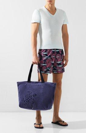 Текстильная пляжная сумка   Фото №2