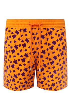 Детского плавки-шорты VILEBREQUIN оранжевого цвета, арт. MOOC0D39 | Фото 1