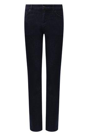 Мужские джинсы BOSS синего цвета, арт. 50421969   Фото 1