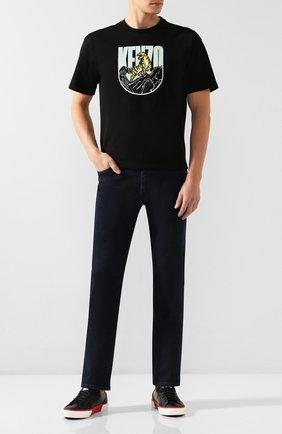 Мужские джинсы BOSS синего цвета, арт. 50421969   Фото 2