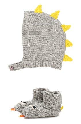 Комплект из шапки и пинеток | Фото №1