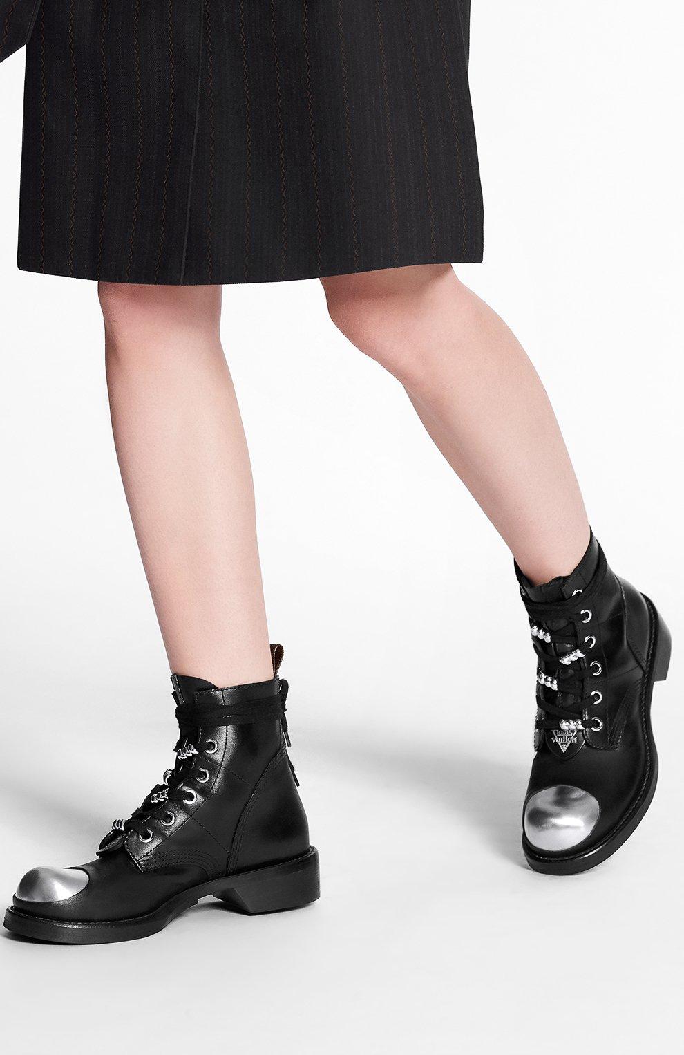Кожаные ботинки Metropolis | Фото №4