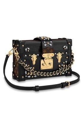 Женская сумка petite malle LOUIS VUITTON черного цвета, арт. M55751 | Фото 1