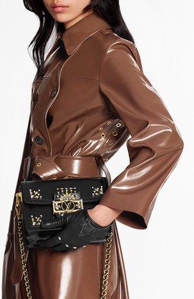 Женская сумка petite malle LOUIS VUITTON черного цвета, арт. M55751 | Фото 2