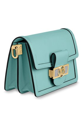 Женская сумка dauphine lugano mini LOUIS VUITTON бирюзового цвета, арт. M55837 | Фото 2