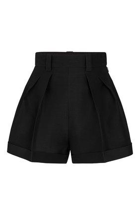 Женские шорты из смеси шерсти и шелка LOUIS VUITTON черного цвета, арт. 1A62SR | Фото 1