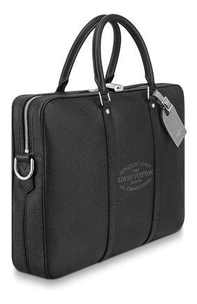 Кожаный портфель Porte Documents Voyage | Фото №2