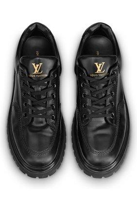 Мужские кожаные кроссовки abbesses LOUIS VUITTON черного цвета, арт. 1A5XKI | Фото 2