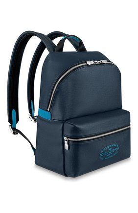 Мужской кожаный рюкзак discovery pm LOUIS VUITTON темно-синего цвета, арт. M30359 | Фото 2