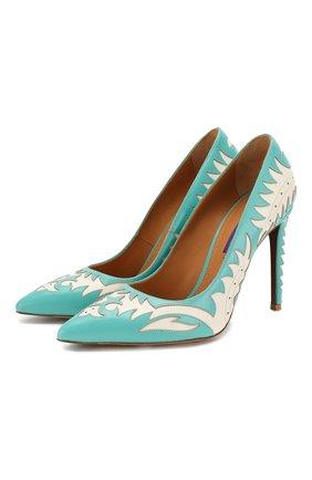 Кожаные туфли Celia | Фото №1