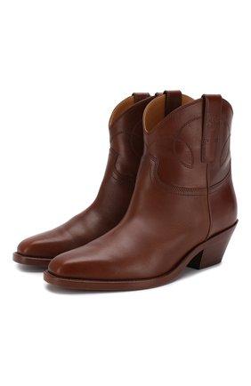 Кожаные ботинки Jayme | Фото №1