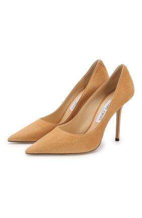 Замшевые туфли Love 100 | Фото №1