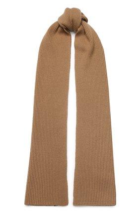 Мужские кашемировый шарф RAG&BONE бежевого цвета, арт. WJK19F00148T14 | Фото 1