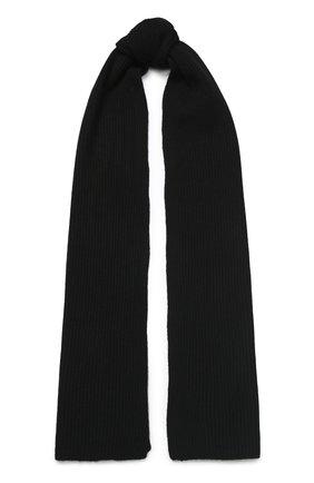Мужские кашемировый шарф RAG&BONE черного цвета, арт. WJK19F00148T14 | Фото 1