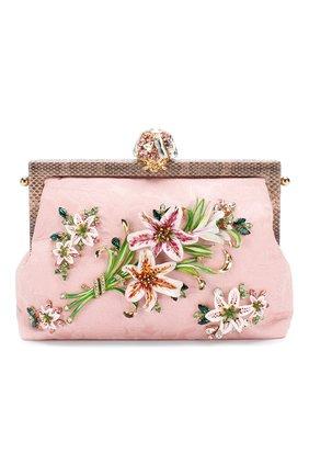 Женский сумка vanda DOLCE & GABBANA розового цвета, арт. BB5843/AA759   Фото 1