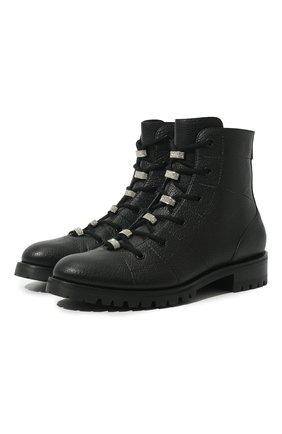Кожаные ботинки Bren | Фото №1