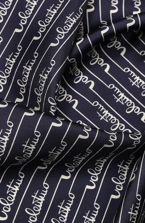 Женский шелковый платок valentino garavani VALENTINO синего цвета, арт. TW2EI114/SWF   Фото 2