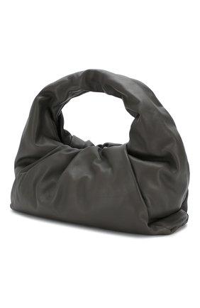 Женская сумка shoulder pouch BOTTEGA VENETA темно-серого цвета, арт. 610524/VCP40 | Фото 3