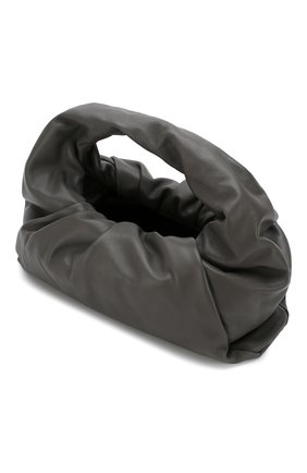Женская сумка shoulder pouch BOTTEGA VENETA темно-серого цвета, арт. 610524/VCP40 | Фото 4
