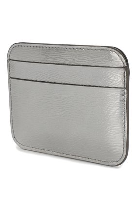 Женский кожаный футляр для кредитных карт BALENCIAGA серебряного цвета, арт. 601386/1JR0Y | Фото 2