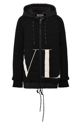 Куртка из смеси вискозы и шерсти | Фото №1