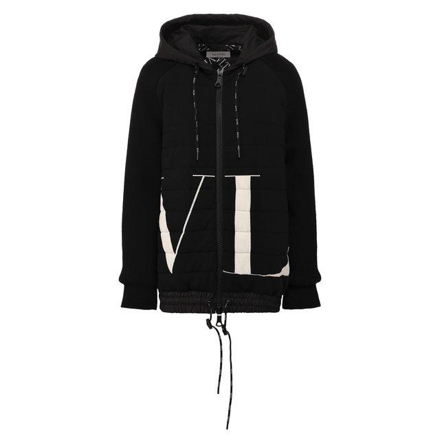 Куртка из смеси вискозы и шерсти Valentino